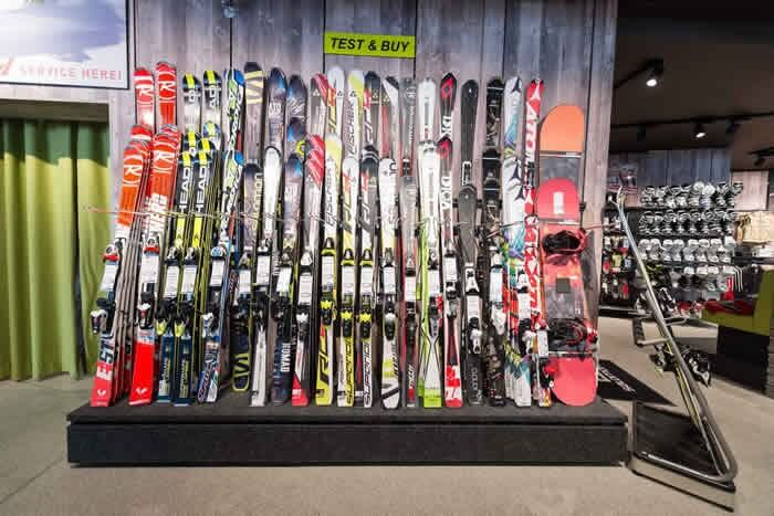 Ski Equipment Rental & Shops