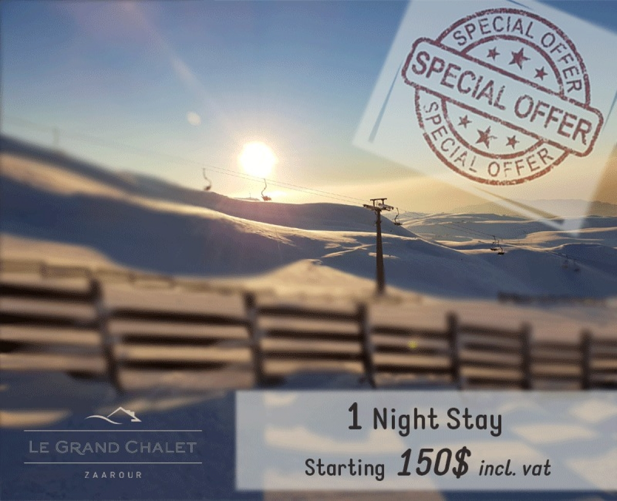 1 Night Stay at Le Grand Chalet