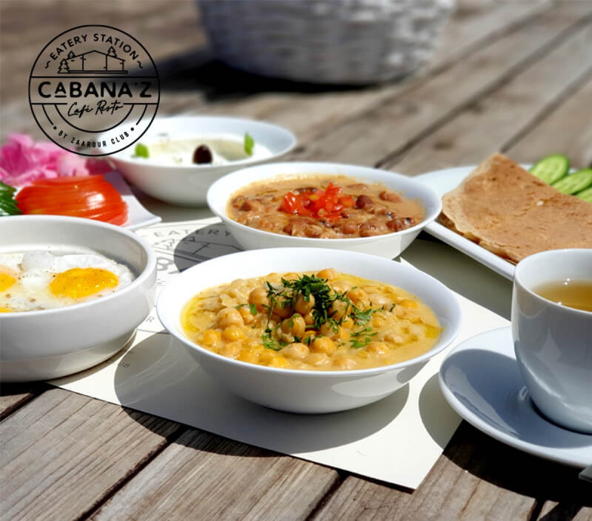 Come try our lebanese breakfast